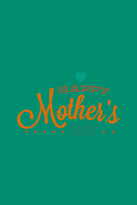 Vector Illustration With Mothers Day And  (editable Text)