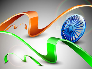 Vector Indian Flag Illustration