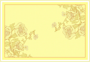 Vector Invitation With Floral