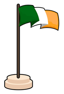 Vector Irish Flag