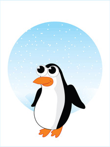 Vector Isolated Penguin