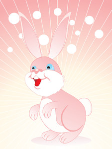Vector Isolated Rabbit