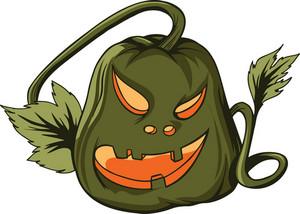 Vector Jack-o'-lantern