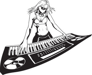 Vector Keyboard Player