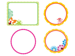 Vector Kids Frame