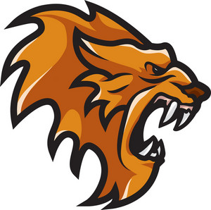 Vector Lion Mascot