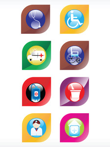 Vector Medical Icon Series Web 2.0 Style Set_15