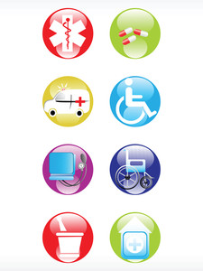 Vector Medical Icon Series Web 2.0 Style Set_16