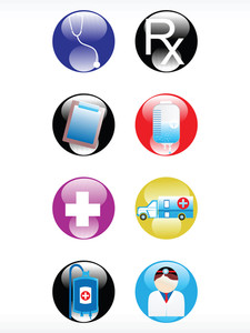 Vector Medical Icon Series Web 2.0 Style Set_17