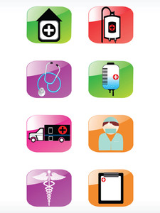 Vector Medical Icon Series Web 2.0 Style Set_18