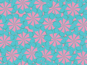 Vector Natural Pattern Wallpaper