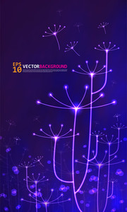 Vector Neon Light Illustration
