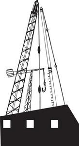 Vector Oil Derrick