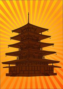 Vector Pagoda