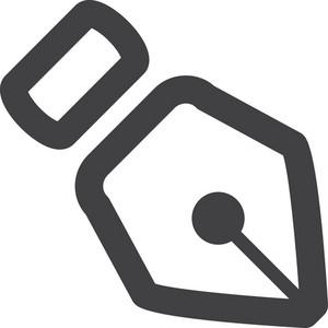 Vector Pen Stroke Icon