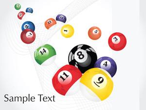 Vector Pool Balls Design2
