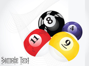 Vector Pool Balls Design3