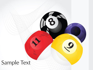 Vector Pool Balls Design4