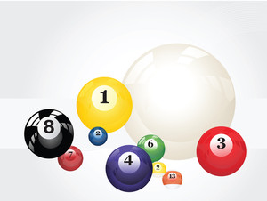 Vector Pool Balls Design5