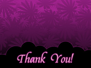 Vector Purple Blossom Background