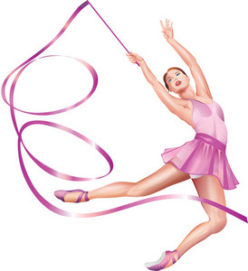 Vector Rhythmic Gymnastics