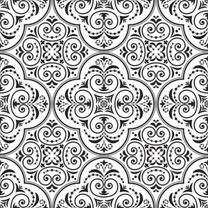 Vector Rococo Pattern