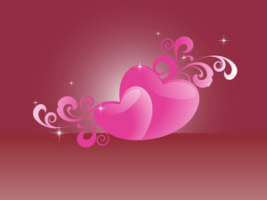 Vector Romantic Background