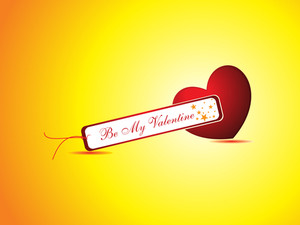 Vector Romantic Heart