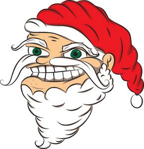 Vector Santa