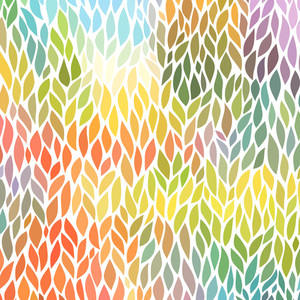 Pattern Vector Seamless Abstract Hand-drawn