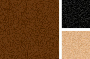 Vector Seamless Leather Texture Closeup.