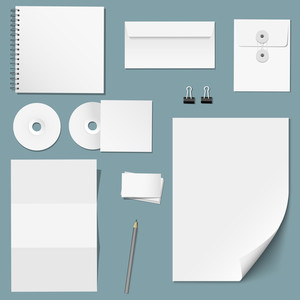 Vector Set Of Design Corporate Templates