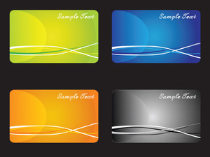 Vector Set Of Office Papers And Labels