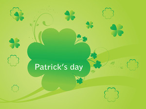 Vector Shamrock Floral Abstract Illustration 17 Mach