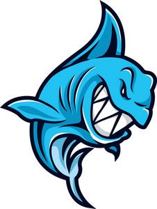Vector Shark Mascot