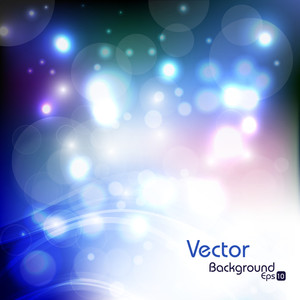 Vector Shiny Background Illustration