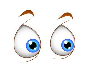 Vector Shocked Eyes