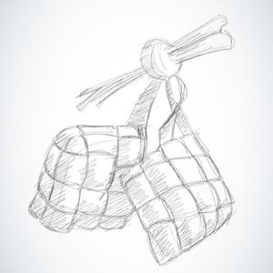 Vector Sketched Ketupat
