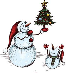 Vector Snowmen