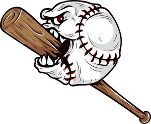 angry ball face with broken wooden baseball bat vector royalty free rh storyblocks com Baseball Bat Clip Art Baseball Bat Vector Logo