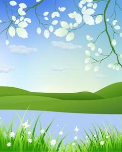 Vector Spring Floral Ilustration