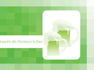 Vector St. Patric Day Accent Illustration 17 March