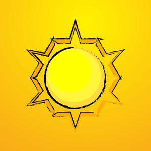 Vector Sun Element