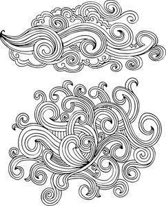 Vector Swirls Set