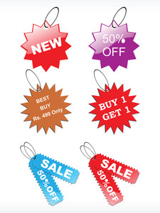 Vector Tag For Special Discount