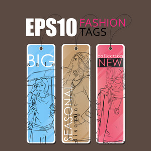 Vector Tags. Eps10