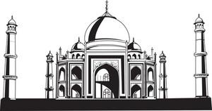 Vector Taj Mahal