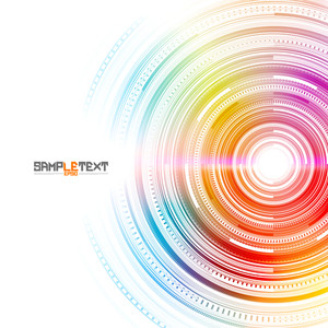 Vector Technology Background Design