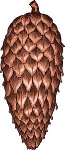 Vector Tree Cone