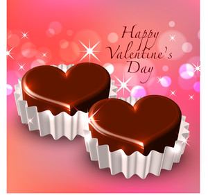 Vector Valentine's Chocolate